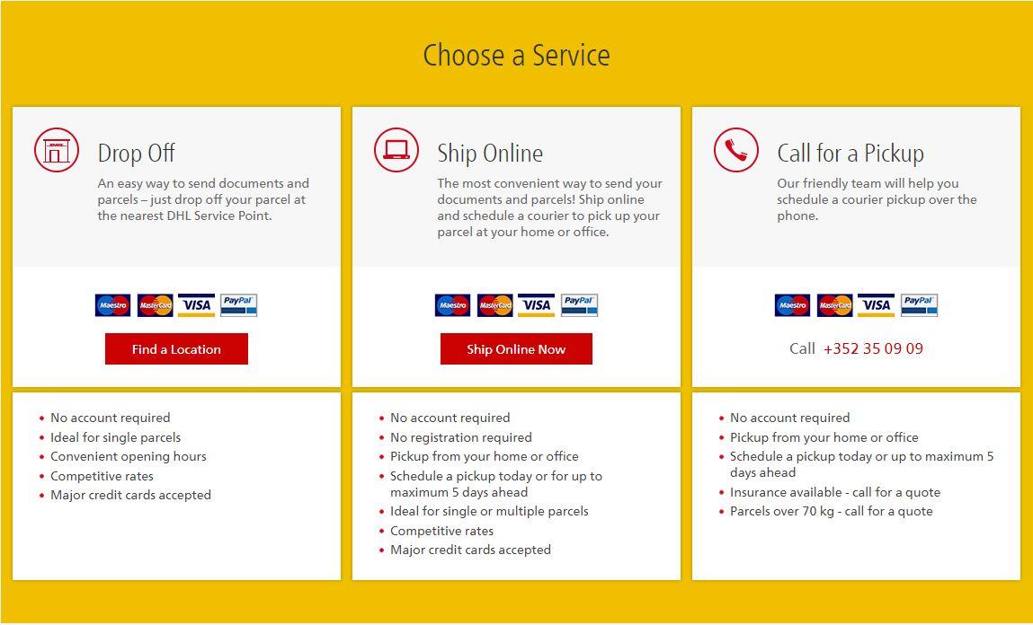 DHL Express Service